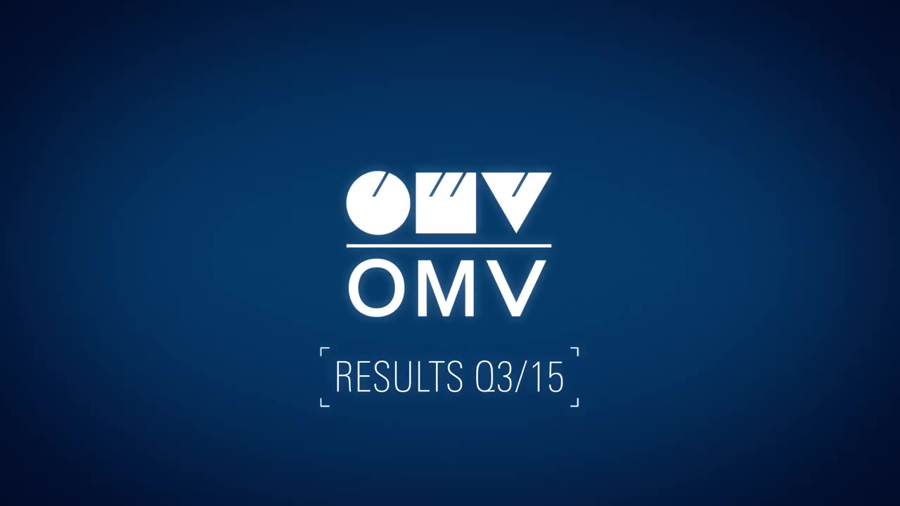 OMV Corporate TV: OMV Results Video July – September - Q3 2015