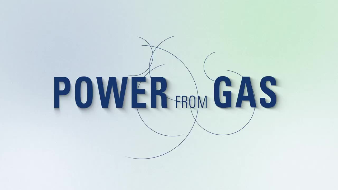 Power generation from gas (video in EN)