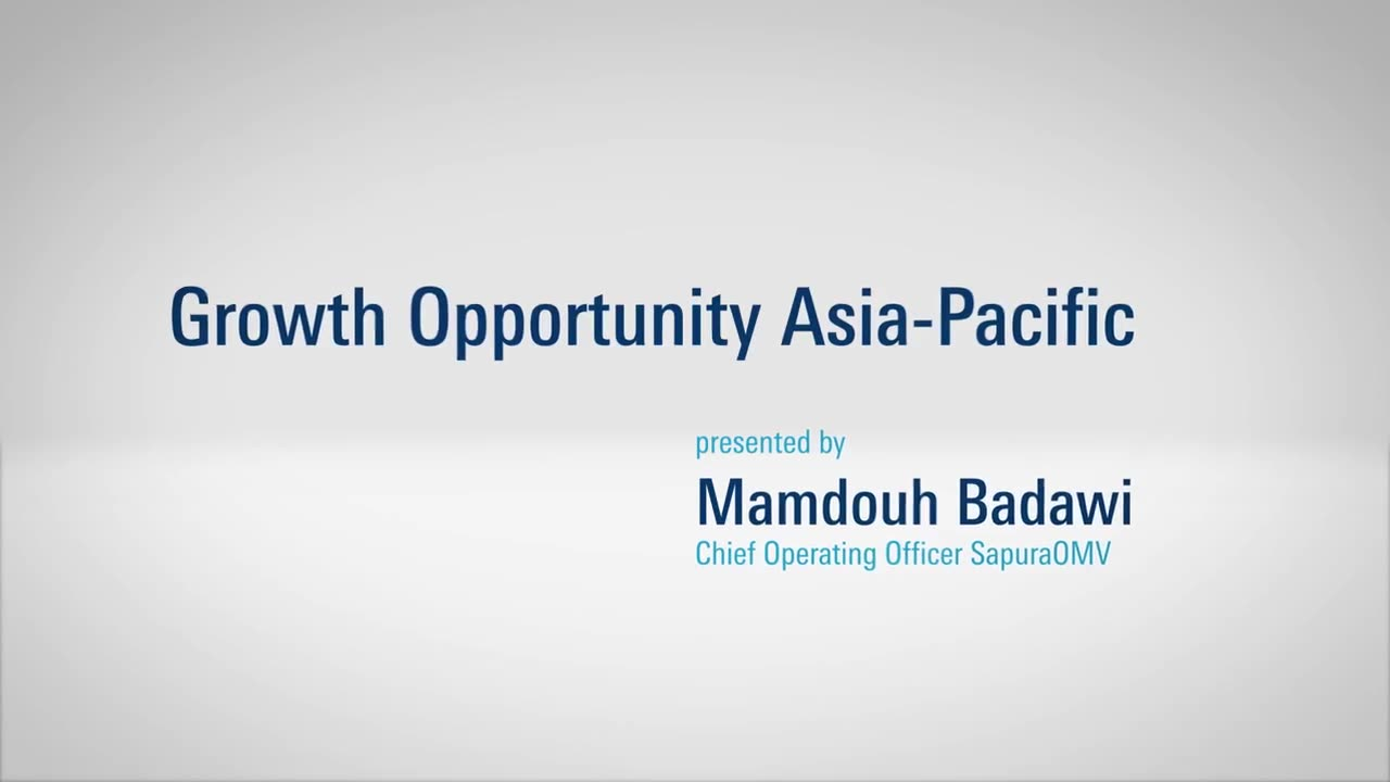 OMV results 2019 / highlight: Growth Opportunity Asia-Pacific
