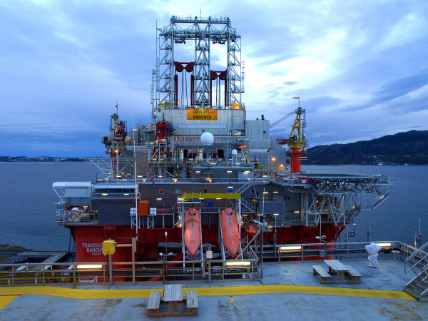 MEDIA072000 Wisting Drilling, Barents Sea, Norway - Transocean Barents
