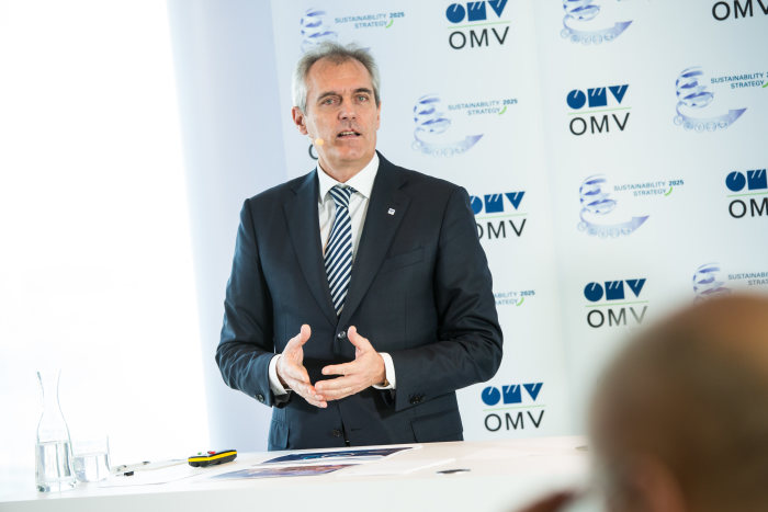 MEDIA101311 OMV presents the Sustainability Strategy 2025